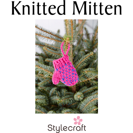 Knitted Mitten | The Wool Attic